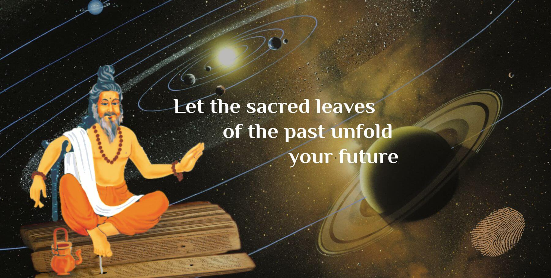 Let the sacred leaves of the past unfold your future